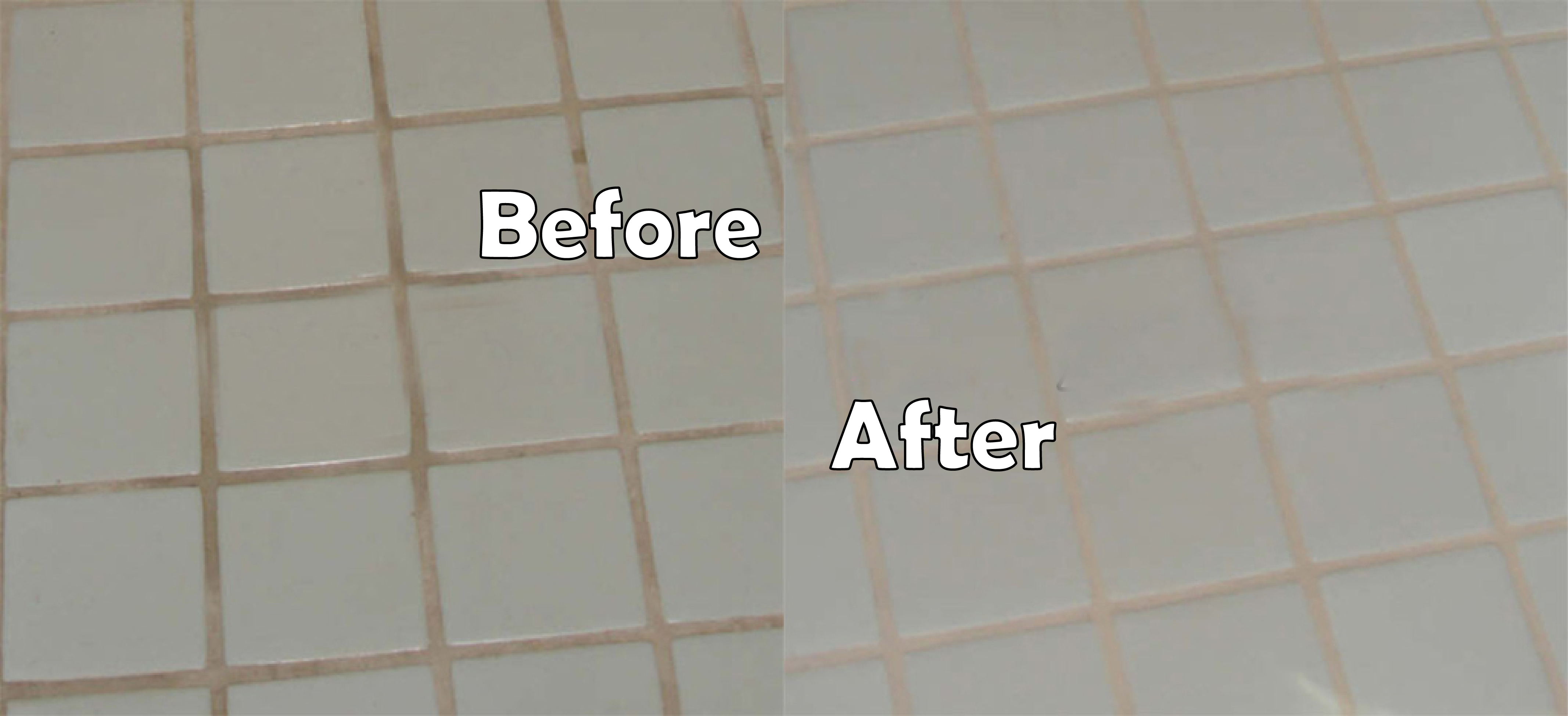 Grout sealing before after images seal systems grout sealing dailygadgetfo Image collections