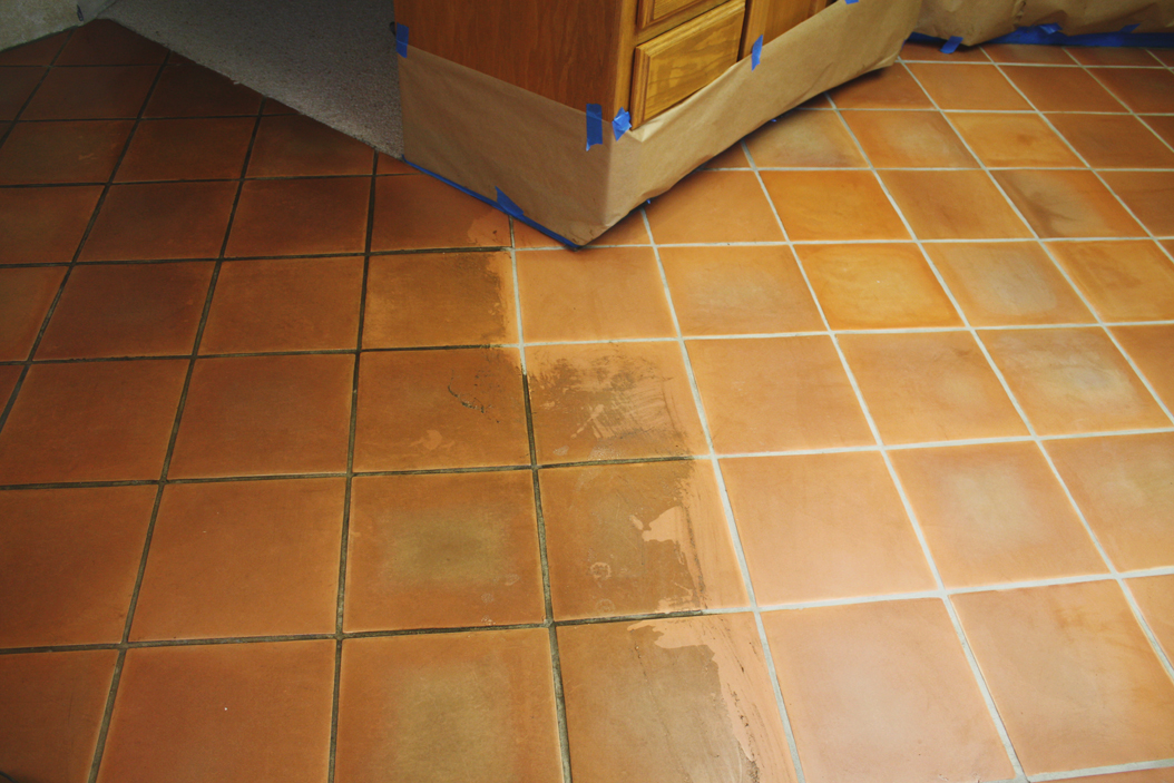 How to clean ceramic floor tiles after grouting flooring for Best product for cleaning bathroom tiles