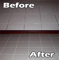 Grout Recoloring | Tile and Grout recoloring | Seal systems