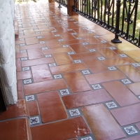 mexican pavers grout work