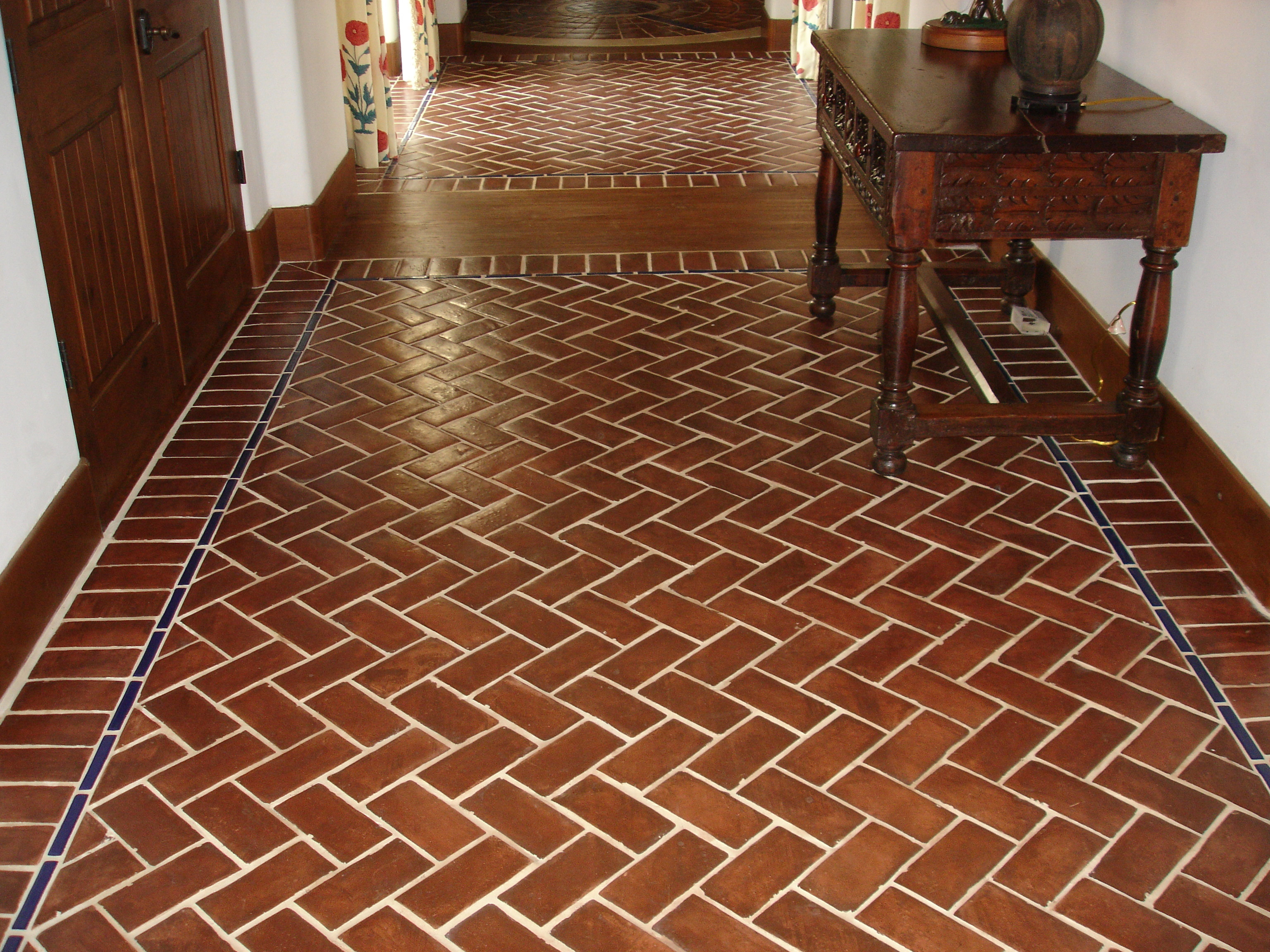Saltillo Tiles Before and After