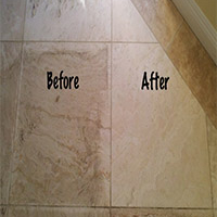 marble stone cleaning before and after
