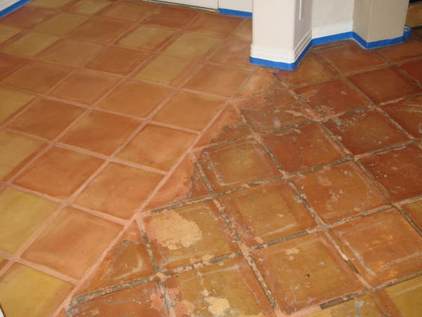 Mexican Pavers Cleaning Sealing And Restoration - Clean and reseal grout